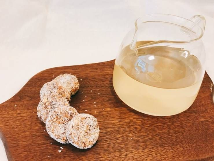 식사대용으로 좋은 오트밀 시나몬 쿠키!