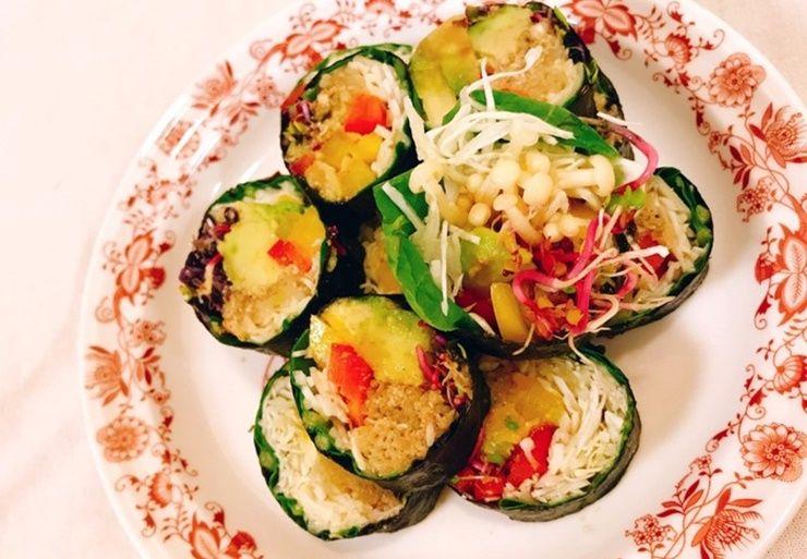 밥없이 만드는 저칼로리 `채소 김밥`!