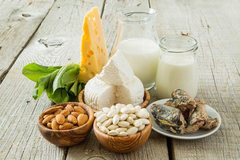 나의 비만을 막아줄 칼슘 식품은?